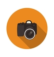 Slr optical camera vector image