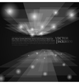 stylish black and white rays abstract mosaic vector image