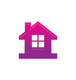 home business contruction logo vector image