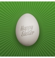 Easter realistic Chicken Egg with Shadows vector image