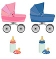 Baby care set vector image