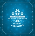 Merry Christmas Wishes vector image vector image