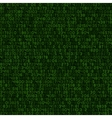 Seamless Green Decimal Computer Code Background vector image