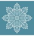 Round Arabesque Pattern vector image