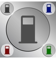 Petrol refueling station icon vector image