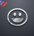 funny Face icon symbol 3D style Trendy modern vector image