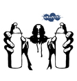 tagger spraypaint vector image