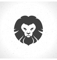 Lion face logo emblem template for business or t vector image vector image