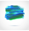 Colorful abstract paint banner vector image