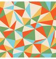 retro seamless triangles vector image