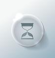 hourglass waiting vector image