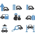 cars signs vector image vector image