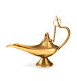 Genie lamp vector image vector image