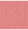 bright red background vector image vector image