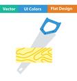 Flat Design Single repair vector image