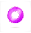 Violet Business Abstract Circle icon vector image