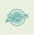 superior label vector image