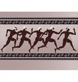 ancient greek figure vector image vector image