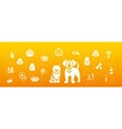 Animal Pets Grooming and Healthcare Flat vector image