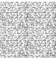 handwritten letter vector image vector image