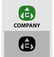 B Letter Logo Icon Design template Element vector image