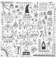 Winter holidays - doodles set 3 vector image vector image