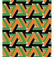 Regular extraordinary geometric seamless pattern vector image