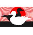 ducks vector image vector image