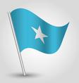 flag somalia vector image