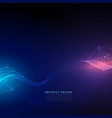 abstract technology background with light effect vector image