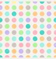 abstract vintage polka dots circles pattern vector image