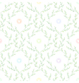 spring pattern green vector image