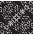 Wavy lines pattern vector image