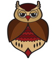 Owl icon4 resize vector image