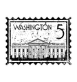 Washington icon vector image