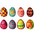 egg set vector image