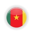 Cameroon icon circle vector image