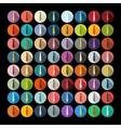 Flat design tie vector image