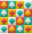 Background with diamonds in flat icon style vector image