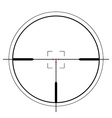 Crosshair icon vector image