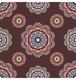 Ethnic floral seamless pattern5 vector image