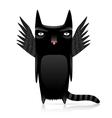 inferno cat vector image
