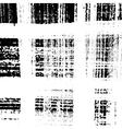 Checkered Texture Distress vector image vector image