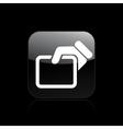 doc icon vector image vector image