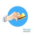 Plastic card vector image