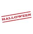 Halloween Watermark Stamp vector image