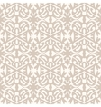 Simple elegant lace pattern in art deco style vector image