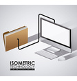 Technology design vector image