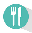 cutlery icon design vector image