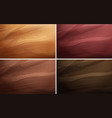 four different background templates with wooden vector image